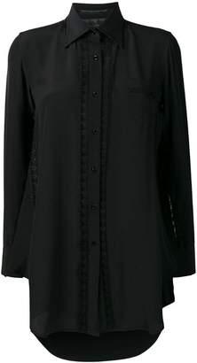 Ermanno Scervino lace detail shirt