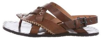 Bottega Veneta Leather Ankle Strap Sandals