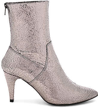 Free People Leather Lexi Heel Boot