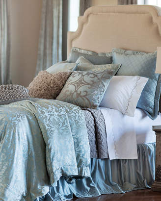 Horchow Lili Alessandra Jackie King Jacquard Duvet Cover