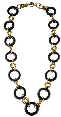 Ashley Pittman Horn Chain Necklace