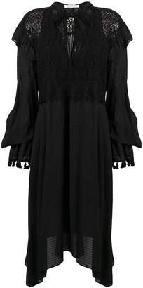 Philosophy di Lorenzo Serafini embroidered ruffle dress