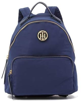 Tommy Hilfiger Ivy Smooth Nylon Dome Backpack