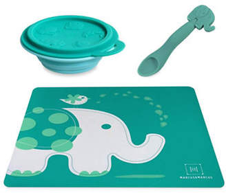 Marcus Collection & Ollie the Elephant Placemat, Bowl and Feeding Spoon Set