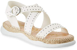 37e5da6d3 Sam Edelman Janette Studded Leather Espadrille Sandals
