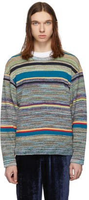 Missoni Multicolor Striped Melange Sweater