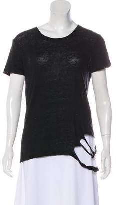 IRO Distressed Short Sleeve T-Shirt