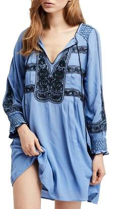 Free People Wind Willow Embroidered Tunic