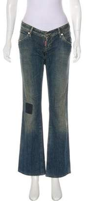 DSQUARED2 Low-Rise Flared Jeans
