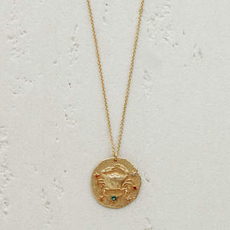 Maje Cancer zodiac sign necklace