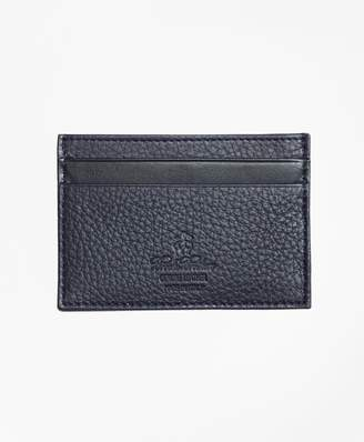 Brooks Brothers Pebble Leather Card Case