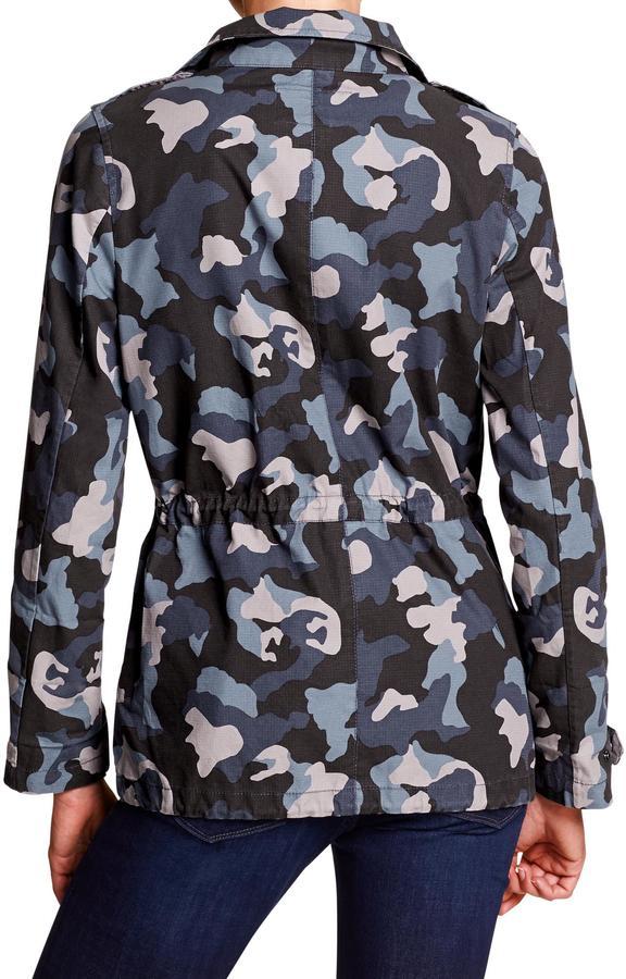 Banana Republic Factory Camo Military Jacket