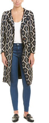 Anama Woven Long Jacket