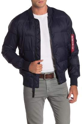Alpha Industries Echo Quilted Bomber Jacket