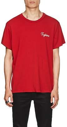 "Amiri Men's ""Fighters"" Cotton T-Shirt"