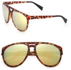 Italia Independent I-Sport 56MM Aviator Sunglasses