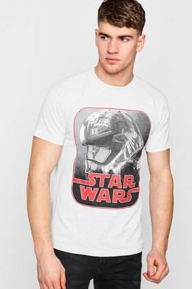 boohoo Star Wars Phasma Retro Print Licence T-Shirt