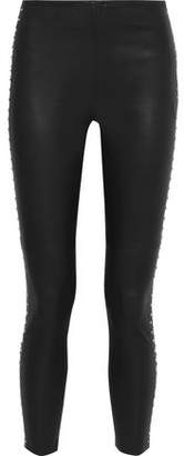 IRO Studded Leather Skinny Pants