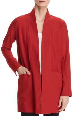 Eileen Fisher Petites Lightweight Open-Front Jacket