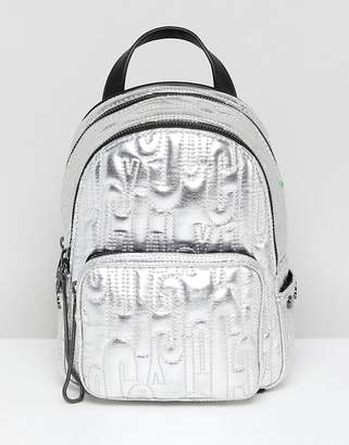 Juicy Couture Juicy By Metallic Embossed Logo Mini Backpack