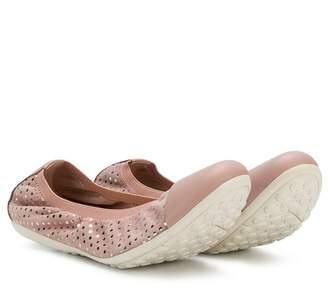 Geox glitter ballet flats