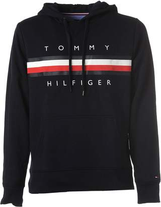 Tommy Hilfiger Hooded Sweater Navy Blue