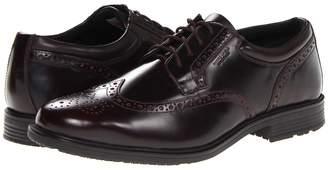 Rockport Essential Details Waterproof Wing Tip Men's Lace Up Cap Toe Shoes