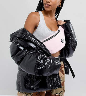 Hype Pink Fanny Pack With Oversized Tassel