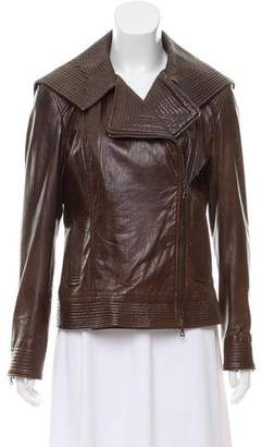J. Mendel Leather Moto Jacket