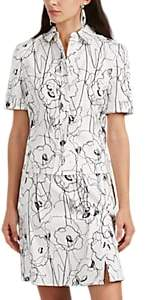 Jason Wu Women's Scribble-Print Cotton Twill Shirtdress