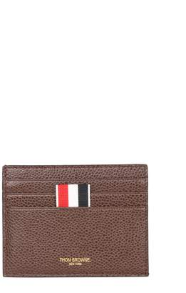 Thom Browne Grained Leather Card Holder