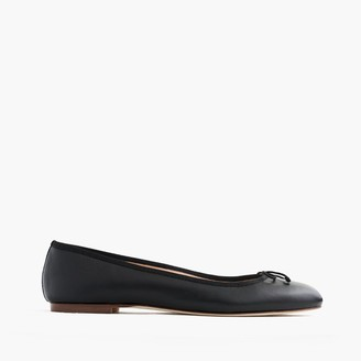 Camille ballet flats in leather $148 thestylecure.com