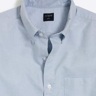 J.Crew Factory Slim short-sleeve oxford shirt