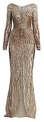 ZUHAIR MURAD Women's Salamanaco Embellished Gown