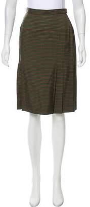Chanel Striped Vintage Skirt