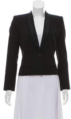 Etoile Isabel Marant Linen Structured Blazer