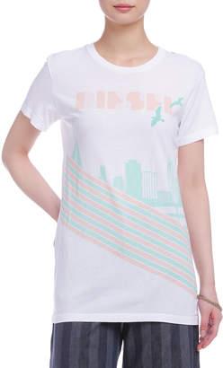 Diesel (ディーゼル) - DIESEL グラフィックプリント Tシャツ ホワイト s