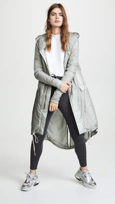 Rick Owens Fishtail Long Jacket