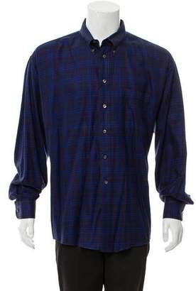 Burberry Plaid Casual Shirt w/ Tags