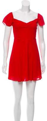 Reformation Mini A-Line Dress