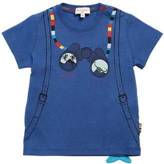 Paul Smith Binoculars Print Cotton Jersey T-Shirt