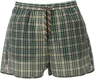 MSGM Tartan Shorts