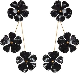 Jennifer Behr 'Poppy' floral drop earrings