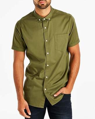 Jacamo Khaki Longline S/S Shirt