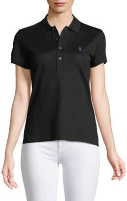 Ralph Lauren Short-Sleeve Knit Polo Shirt
