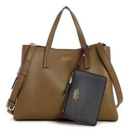 df36af8ef070 GUESS Faux Leather Bags For Women - ShopStyle Canada
