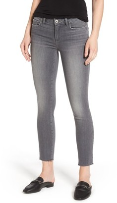 Women's Paige Verdugo Raw Hem Ankle Skinny Jeans $199 thestylecure.com