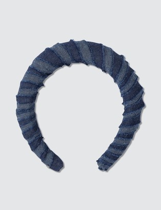 Lelet Ny Denim Padded Headband