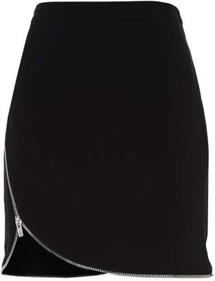 Alexander Wang Zip Detail Mini Skirt