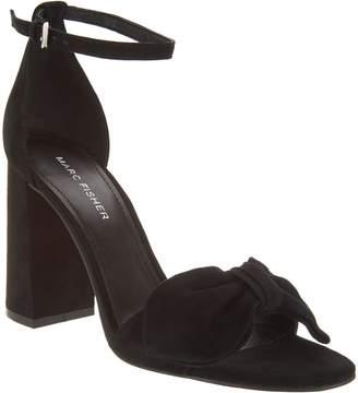 Marc Fisher Ankle Strap Bow Pumps - Malden